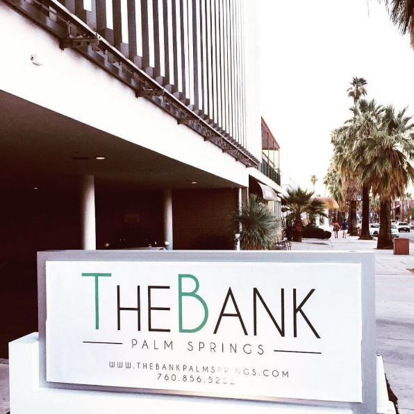 the bank palm springs